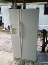 GE SBS fridge in Baytown, Texas