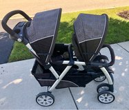 Chicco Cortina KeyFit double stroller in Joliet, Illinois
