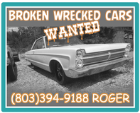 Broken, wrecked or junk vehicles wanted in Fort Campbell, Kentucky