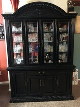 China Cabinet with crystals in Fort Carson, Colorado
