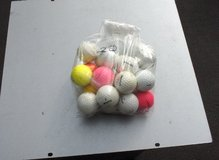 BAG OF 22 USED GOLF BALLS in Oswego, Illinois