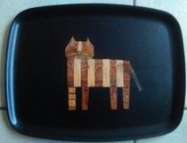 Vintage Mid Century Serving Tray in Yucca Valley, California