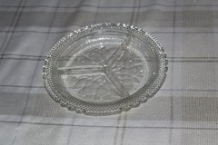 Crystal Dish with frosted fruit in Tacoma, Washington