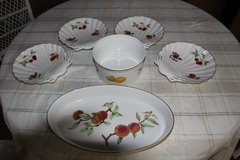 Royal Worcester Evesham Gold: 6 Piece set in Tacoma, Washington