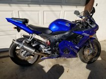2005 Yamaha YZF-600 R6 in Temecula, California