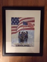 "FIRST RESPONDERS ""United We Stand"" ORIGINAL Watercolor Print PICTURE in Naperville, Illinois"