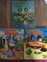 3 wiggly eyes children books in Stuttgart, GE