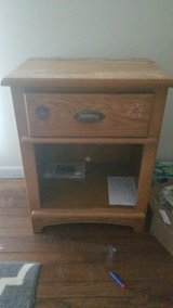 Solid wood night stand in Chicago, Illinois