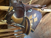 Saddle, riding in Fort Polk, Louisiana