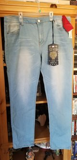 women's plus jeans in Yucca Valley, California