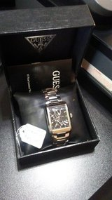 men's Guess steel watch in Byron, Georgia