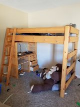 Loft Bed w/ built-in desk in 29 Palms, California