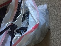 Bag of store hangers in Joliet, Illinois