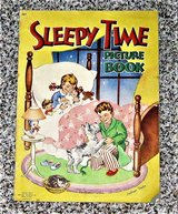 Vintage 1946 Sleepy Time Picture Book by Cathryn Taylor - 13 X 9 ½ in Schaumburg, Illinois