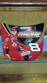 Dale Jr. nascar replica hood sign in Fort Leonard Wood, Missouri