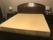 King sized bed and tempurpedic mattress and box spring in Kingwood, Texas