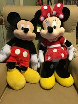 X-LARGE Minnie  &  Mickey  Mouse Plush  Toys in Fort Campbell, Kentucky