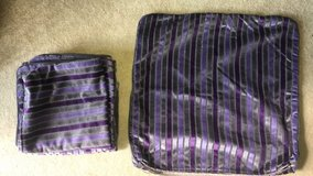 four large purple couch pillow cases in Okinawa, Japan