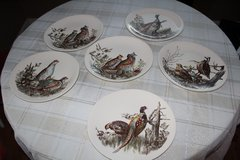"Johnson Brothers 10 ¼"" dinner Plates-Game Birds Pattern-six plates in all-$25 Each OBO Includes-... in Tacoma, Washington"