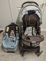 Graco Car Seat and Stroller Combo in Travis AFB, California