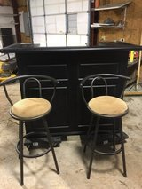 Bar with stools in Fort Campbell, Kentucky