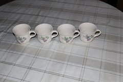 Pfaltzgraff Coffee Cups-Grapevine pattern- Set of 4 in Tacoma, Washington