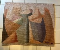 BEAUTIFUL!!  LARGE WOVEN ORIGINAL WALL ART - LIKE NEW!! in Naperville, Illinois