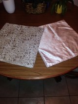 PAIR OF PILLOW COVERLETS in Kingwood, Texas