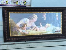 french vintage frame mummy with her babies angels in Ramstein, Germany