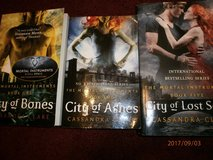 BOOKS 1,2,3 OF The Mortal Instruments Collection by Cassandra Clare in Lakenheath, UK