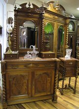 French Bedroom Set - Louis XIII Style circa 1880 in Ramstein, Germany