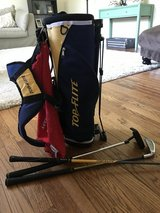 Kids Size Golf Bag w/clubs in Westmont, Illinois