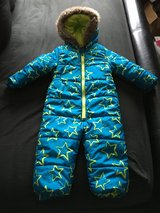 Boys snowsuit all-in-one coat 1.5-2yrs in Lakenheath, UK