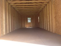 12x32 Garage Shed Storage Building DISCOUNTED!!! in Moody AFB, Georgia