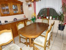 Dining Table and Sideboard in Spangdahlem, Germany