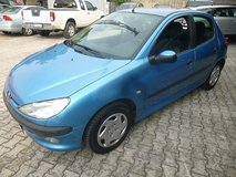 Automatic Peugeot 206 in Vicenza, Italy