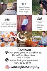 mini photo sessions in Temecula, California