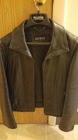Guess leather jacket in Fort Drum, New York