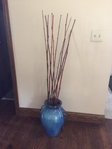 Porcelain Vase with Bamboo in Sugar Grove, Illinois