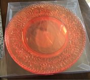 Orange Acrylic Plates in Chicago, Illinois