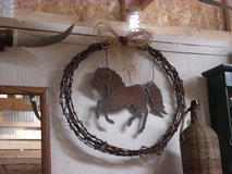 Rustic Horse Art in Alamogordo, New Mexico