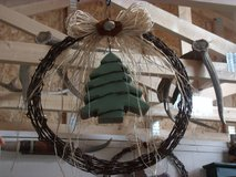 Rustic Barbed Wire Wreath in Alamogordo, New Mexico