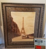 Eiffel Tower Framed Wall Art in Byron, Georgia