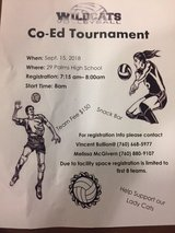 CO-ED VOLLEYBALL TOURNAMENT in 29 Palms, California