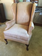 Velvet Wing Back Chair in Wheaton, Illinois