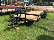 New 18ft Pipe Top Utility Trailer in Fort Polk, Louisiana