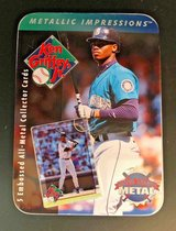 "*** KEN GRIFFEY JR. 1996 ""Metallic Impressions"" 5 Embossed Metal Card Set with Tin *** in Tacoma, Washington"