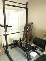 Squat Rack and Flat Bench in Fort Bragg, North Carolina