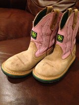Kid John Deere boots in Fort Leonard Wood, Missouri