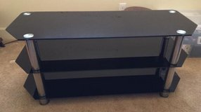 Glass TV Stand for up to 55-inch TVs in Melbourne, Florida